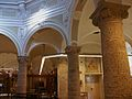 Columnes que sostenen la cúpula del creuer, Biblioteca Pública de València, antic Hospital.JPG