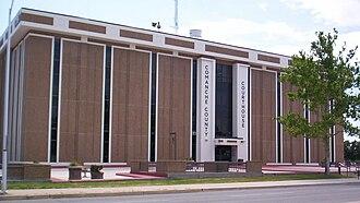 Comanche County, Oklahoma - Image: Comanche County Oklahoma courthouse