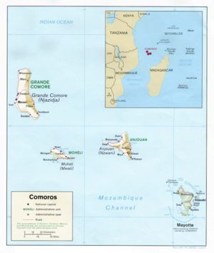 Comoro Islands - Image: Comoros rel 91