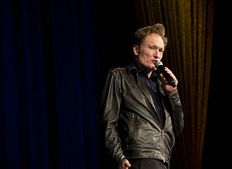 Sixth College - Conan O'Brien during his visit to Sixth College in 2012.