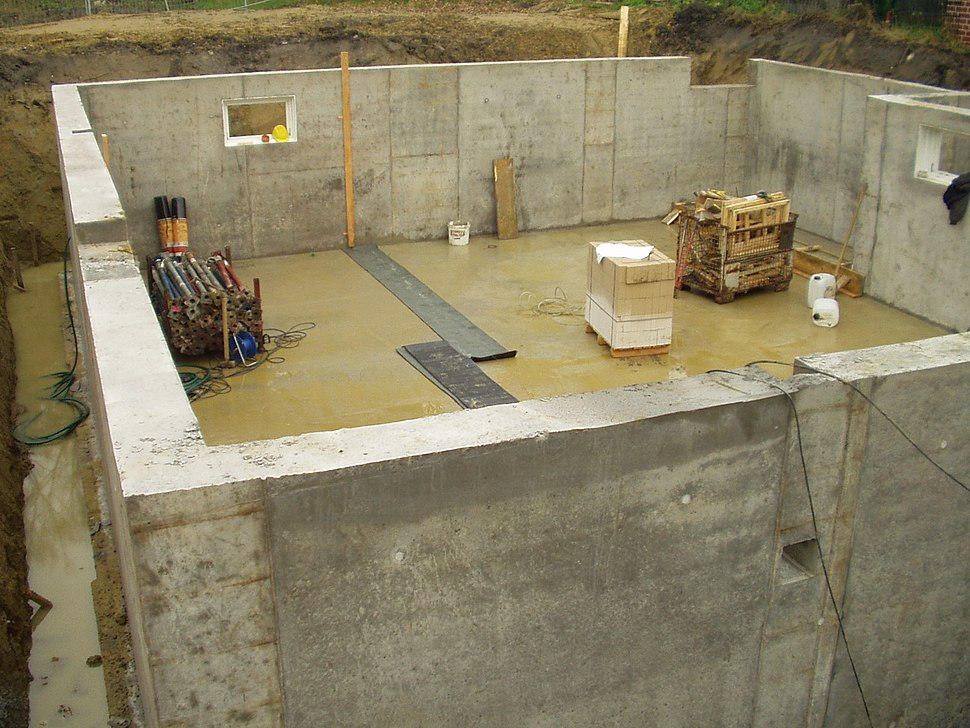 Concrete cellar 10007
