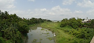 Saraswati River (Bengal) - The starting point of the river Saraswati from the river Hooghly at Tribeni