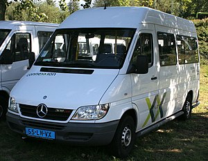 Connexxion - Mercedes-Benz Sprinter taxi in September 2007