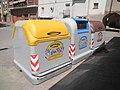 Contenedores de la recogida automatizada de residuos en Los Arcos.jpg