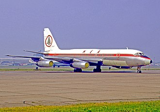 Middle East Airlines - A Middle East Airlines Convair 990A at London Heathrow Airport in 1970