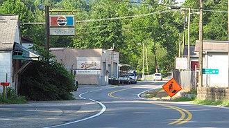 Cora, West Virginia - Old US Highway 119 in Cora