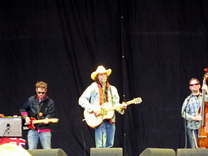 Corb Lund - Corb Lund and the Hurtin' Albertans at the 2007 Glastonbury Festival