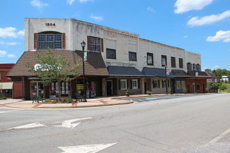 Cornelia, Georgia - Stores in downtown Cornelia