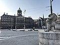 Corona - Empty streets in Amsterdam - Dam met Paleis.jpg