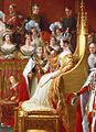 Coronation of Queen Victoria 28 June 1838 by Sir George Hayter (cropped).jpg