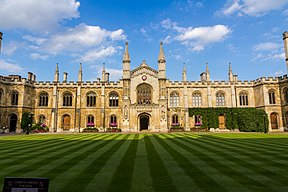 Corpus Christi Cambridge New Court 2014