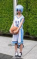 Cosplayer of Tetsuya Kuroko, Kuroko no Basket at FF26 20150829a.jpg