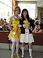 Cosplayers of Sakura Kinomoto and Tomoyo Daidouji at Animethon 20080809a.jpg