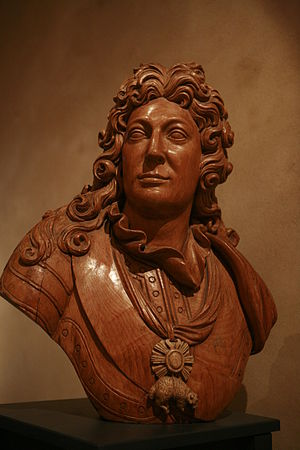 Count of Toulouse - Bust of Louis-Alexandre de Bourbon, comte de Toulouse, by Yves-Étienne Collet (1761-1843). On display at Brest naval museum.