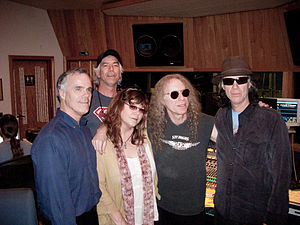 Waddy Wachtel - Wachtel with The Cowsills in 2009