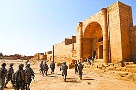 Crazy Troop Visit Ancient Ruins of Hatra 2