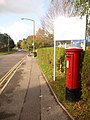 Creekmoor, postbox No. BH17 7, Northmead Drive - geograph.org.uk - 1582066.jpg