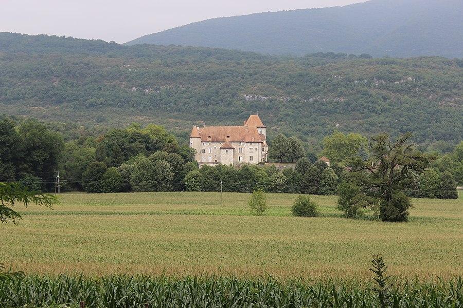 Château de Mérieu à Creys-Mépieu.