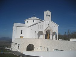 Croatian Church built in Udbina in honour of the people who died in the Battle of Krbava.