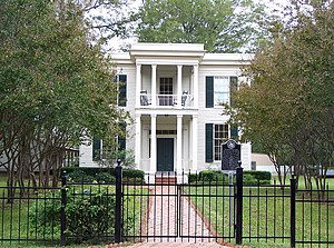 Crocheron-McDowall House - The Crocheron-McDowall house is an outstanding example of Greek Revival architecture in Texas.