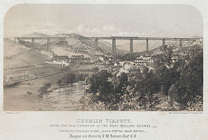 1857 in Wales - Crumlin Viaduct
