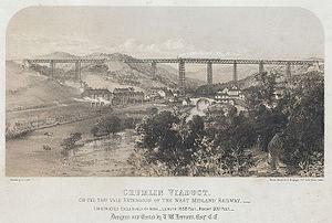 1857 in Wales - Crumlin Viaduct