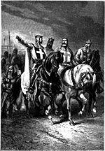 I quattro comandanti della prima crociata, questi guerrieri salpavano spesso dal porto brindisino
