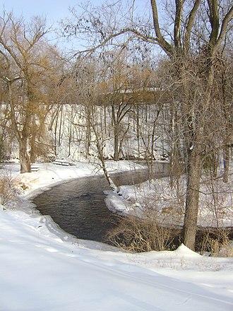Dayton, Waupaca County, Wisconsin - Image: Crystal River, Dayton, Wisconsin
