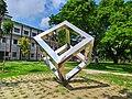 Crystal structure in University of Rajshahi (5).jpg