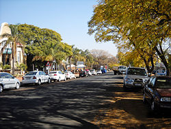 The main street in Cullinan