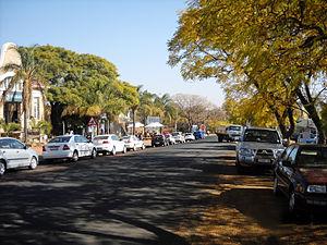 Cullinan, Gauteng - The main street in Cullinan