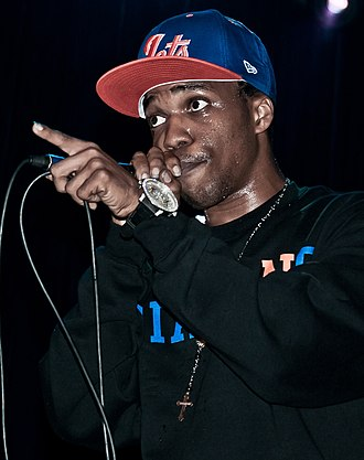 Currensy - Franklin performing in 2010