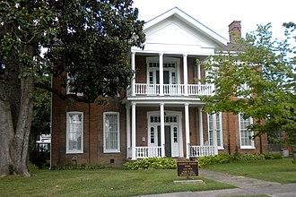 Metropolis, Illinois - Elijah P. Curtis House in Metropolis.