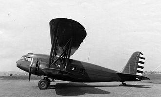 Curtiss T-32 Condor II - A USAAC YC-30 in 1933.