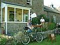 Cyclist's cafe in Elsdon - geograph.org.uk - 130460.jpg
