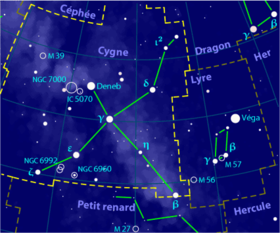 Image illustrative de l'article Cygne (constellation)