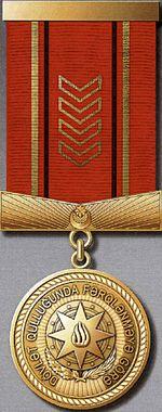 Dövlət qulluğunda fərqlənməyə görə medalı-2013.jpg