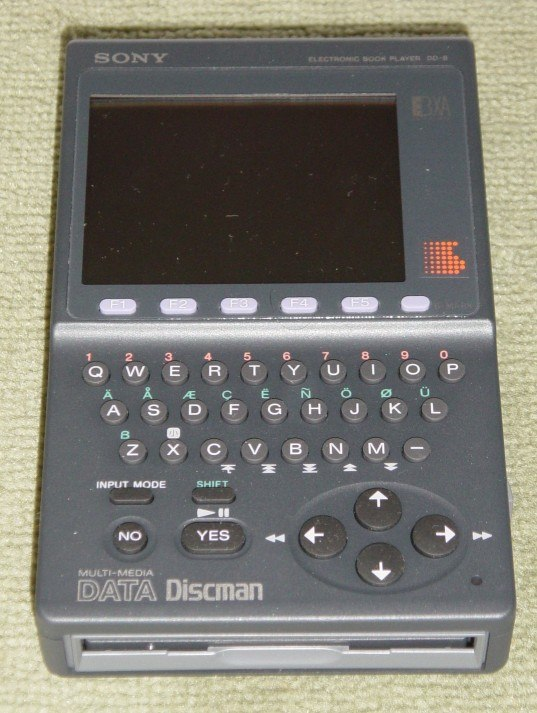 DD 8 Electronic Book Player 1