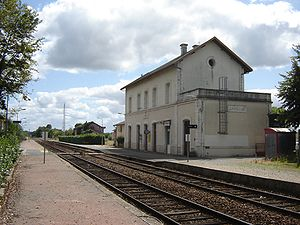 Castillon-la-Bataille - Train station