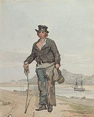 John Lumley, one of Lord Nelson's seaman