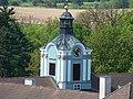 Dačice, věž zámku.jpg