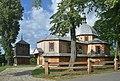 Dachnów, cerkiew Podwyższenia Krzyża Świętego, dzwonnica (HB12).jpg