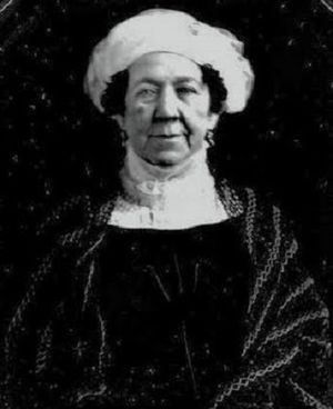 Dolley Madison - A daguerreotype of Dolley in 1848, by Mathew Brady