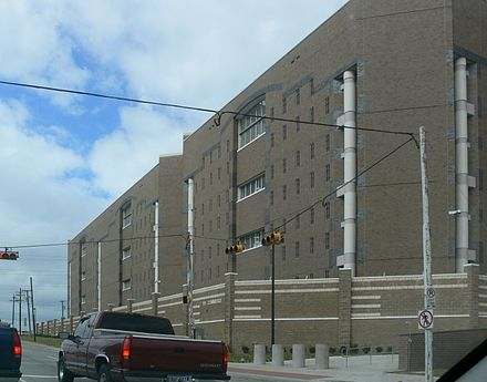 Dallas County Jail, 111 West Commerce Street Dallas County Jail 111 W Commerce Street.jpg