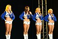 Dallas Cowboys Cheerleaders Performance - U.S. Army Garrison Humphreys, South Korea - 21 December 2011 (6558521481).jpg
