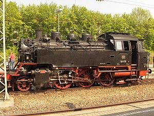 DRG Class 64 - Image: Dampflok in Marbach geo.hlipp.de 1595