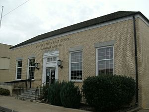 Dardanelle Agriculture and Post Office - Image: Dardanelle, AR Post Office