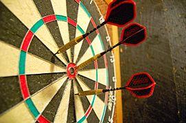 Darts in a dartboard.jpg