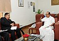 Datuk Seri Noh Bin Omar calls on the Minister of State (Independent Charge) for Consumer Affairs, Food and Public Distribution, Professor K.V. Thomas, in New Delhi on October 18, 2012.jpg