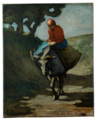 Daumier - Rückkehr vom Markt, um 1855-60.png